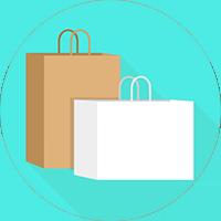 stock retail packaging